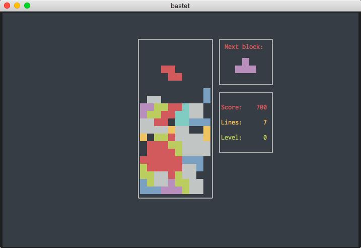 Playing Bastard Tetris